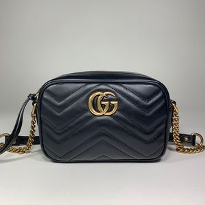 Gucci GG Marmont 2.0 Mini Matelasse Camera Bag